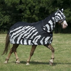 Buzz-Off Rain Zebra hals